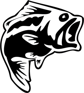 clipart royalty free download Logo vectors free download. Bass svg largemouth