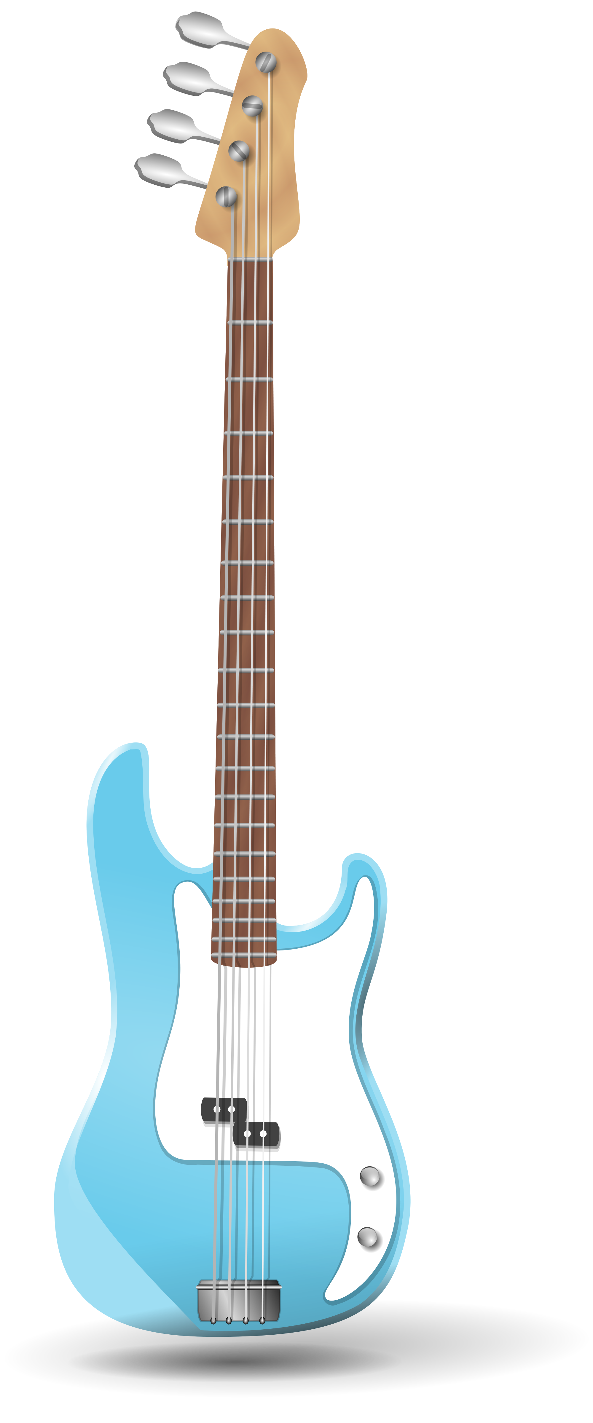 picture freeuse download Bass svg vector. File guitar wikimedia commons
