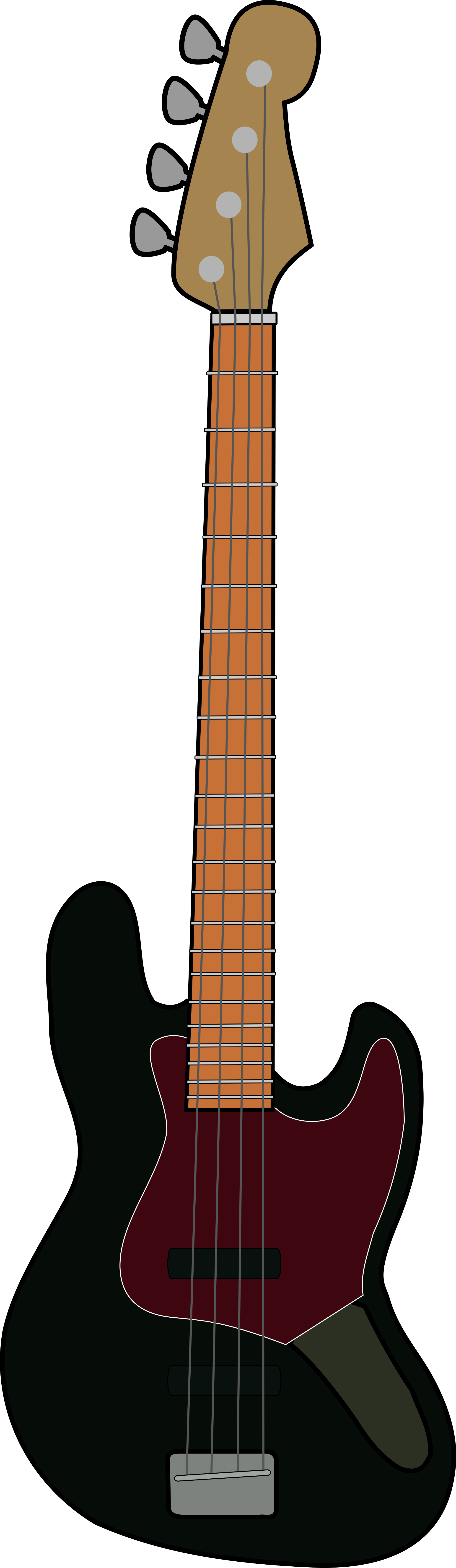 png freeuse download File fender jazz wikimedia. Bass svg vector