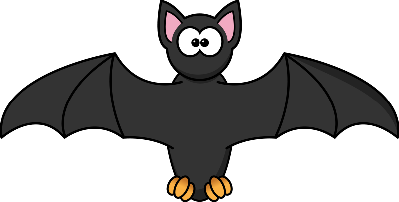 graphic royalty free library Free Bat Clip Arts