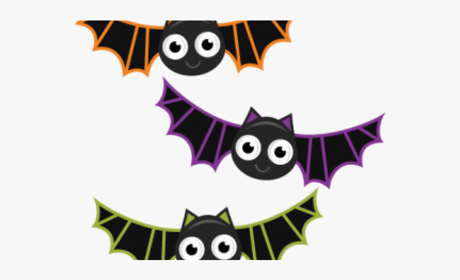 svg royalty free Bat clipart. Cute halloween bats free