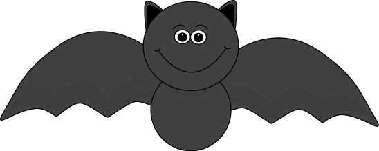 vector royalty free library Cute halloween . Bat clipart