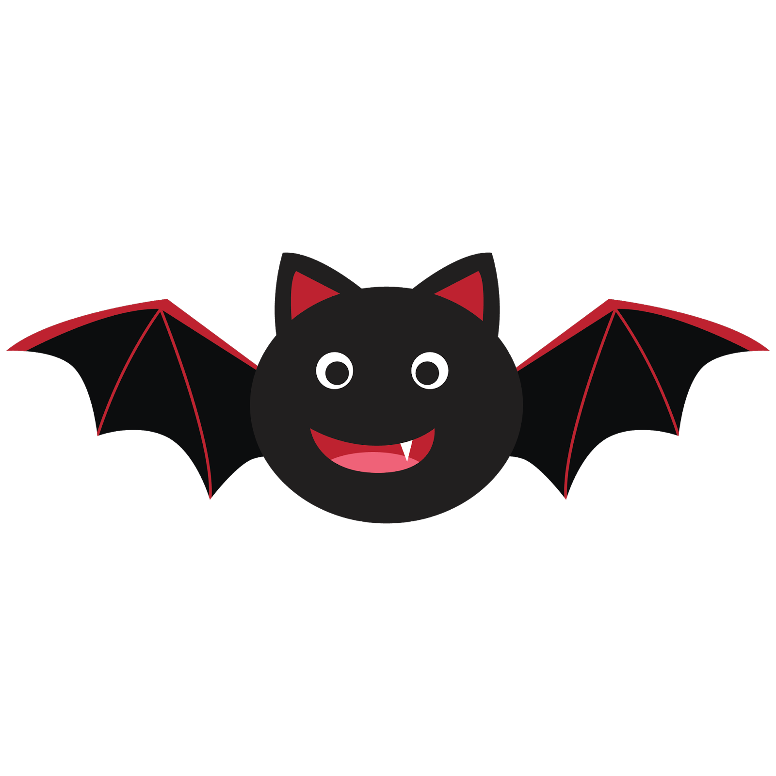picture library Bat for my month. Vampir clipart printable
