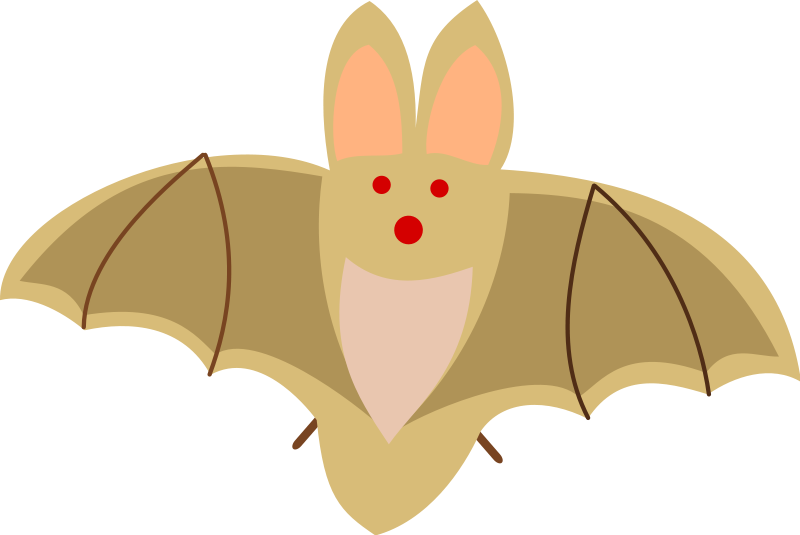 clipart royalty free stock Bat clipart. Halloween and vampire free.