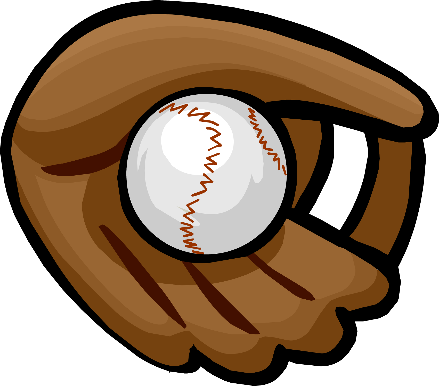 clipart royalty free Glove clipart article clothing. Baseball club penguin wiki