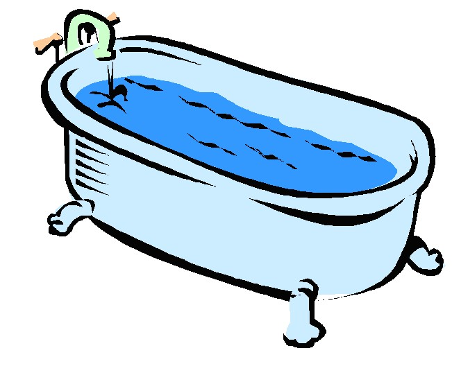 jpg transparent library Free bathtub cliparts download. Bath clipart