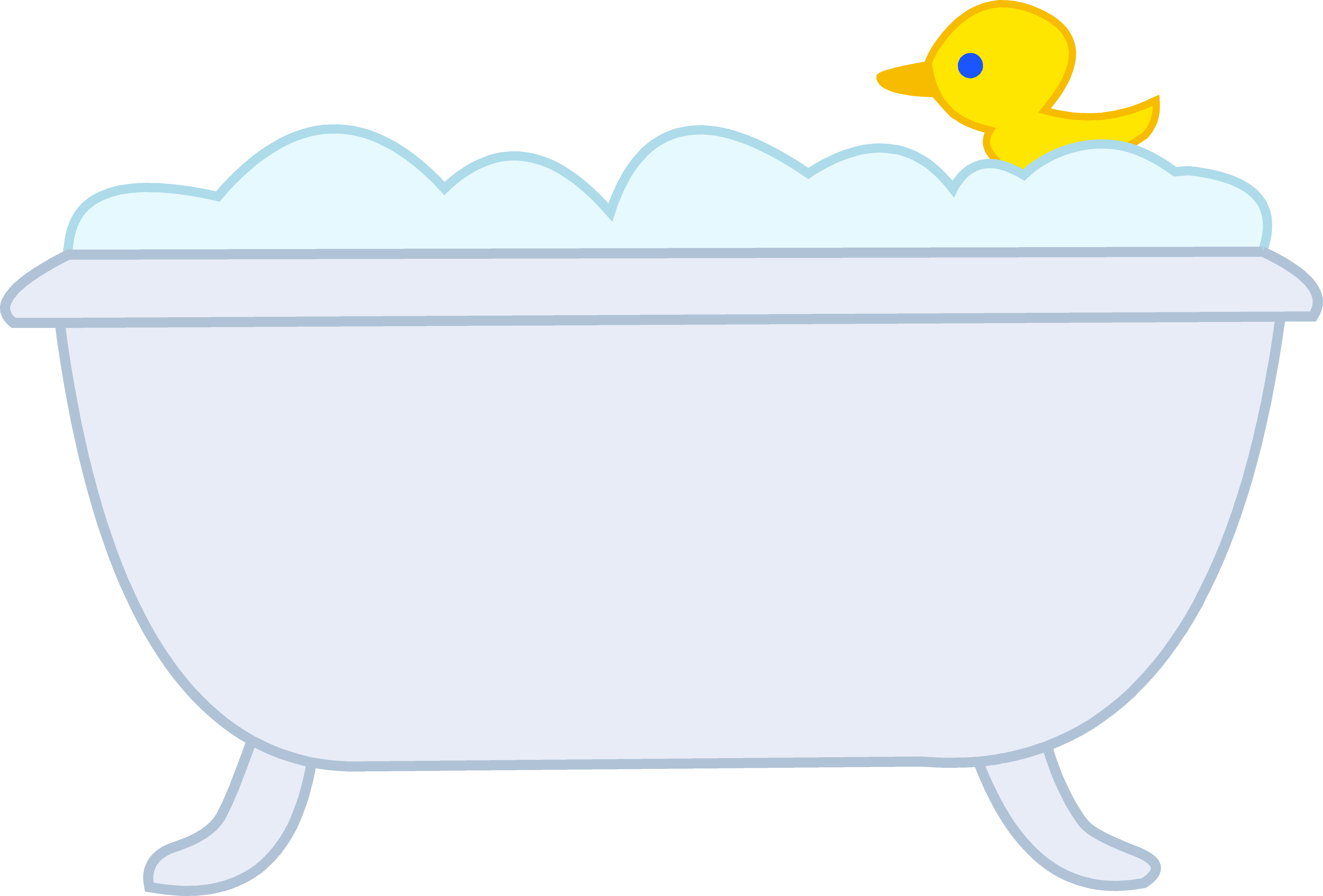 graphic freeuse Simple free on dumielauxepices. Bathtub clipart fancy.