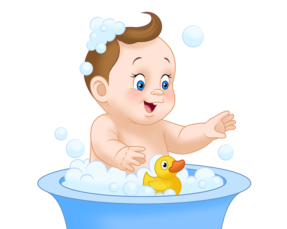 png free download Bath medzsoft body. Bathing clipart baby wash.