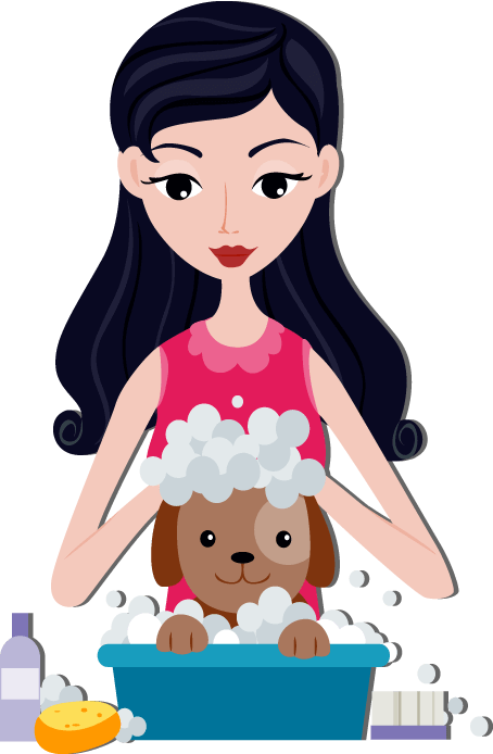 banner black and white download Bathing clipart dog bath. The ultimate guide to.