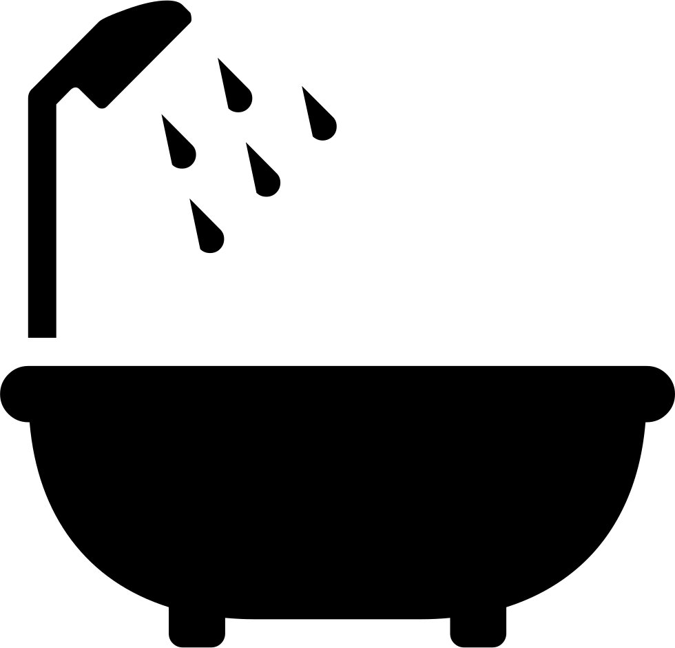 vector freeuse download Bathtub png icon free. Bath clipart svg.