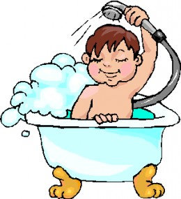 image black and white download Free cliparts download clip. Bathing clipart