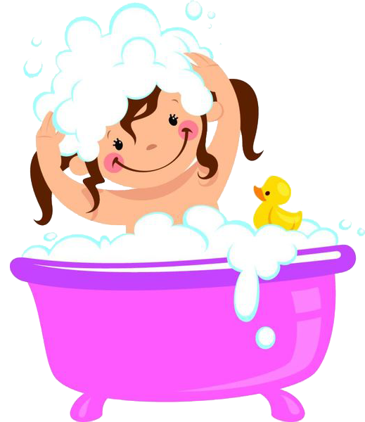 vector black and white library Bathtub clip art a. Bathing clipart bubble bath