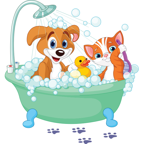 png freeuse Bathing clipart dog bath. Pet transparent free for.