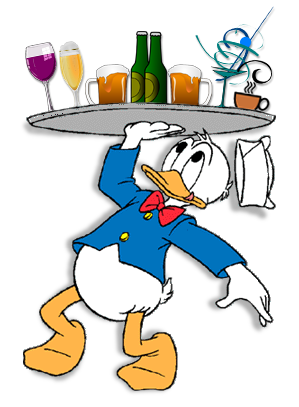 vector download Yes clipart inspired. Altered donald carrying tray