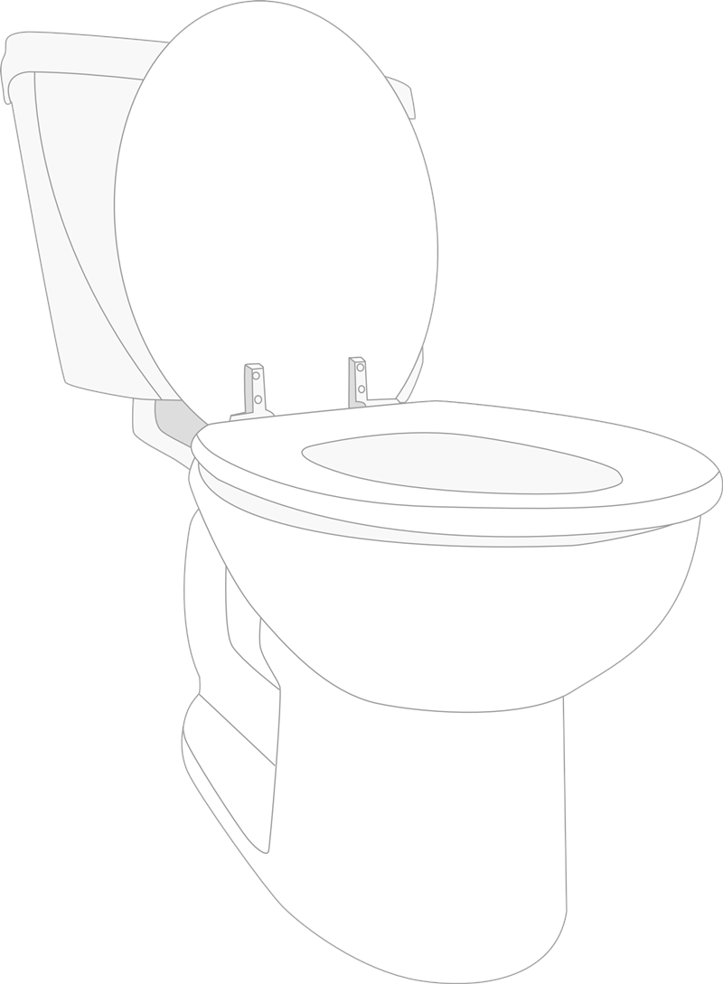 graphic royalty free Toilet Clip Art Black And White