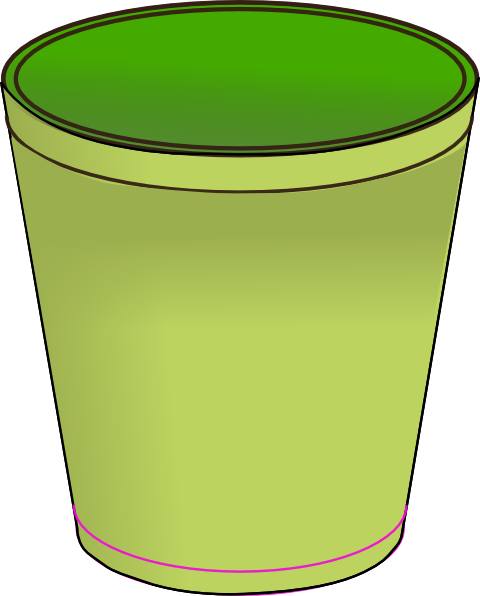 clip stock Trashcan clipart garbage pail. Trash can at getdrawings