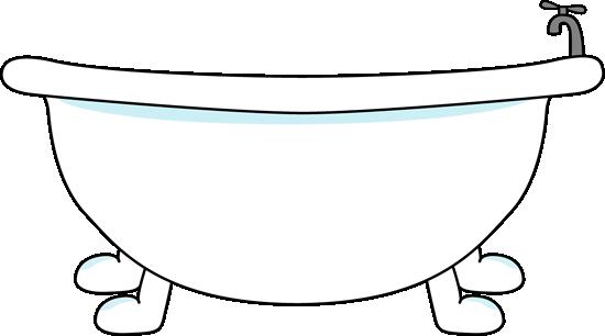 graphic transparent Bathtub clipart. Clip art image large