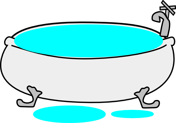 jpg transparent Tub Overflow Clip Art at Clker