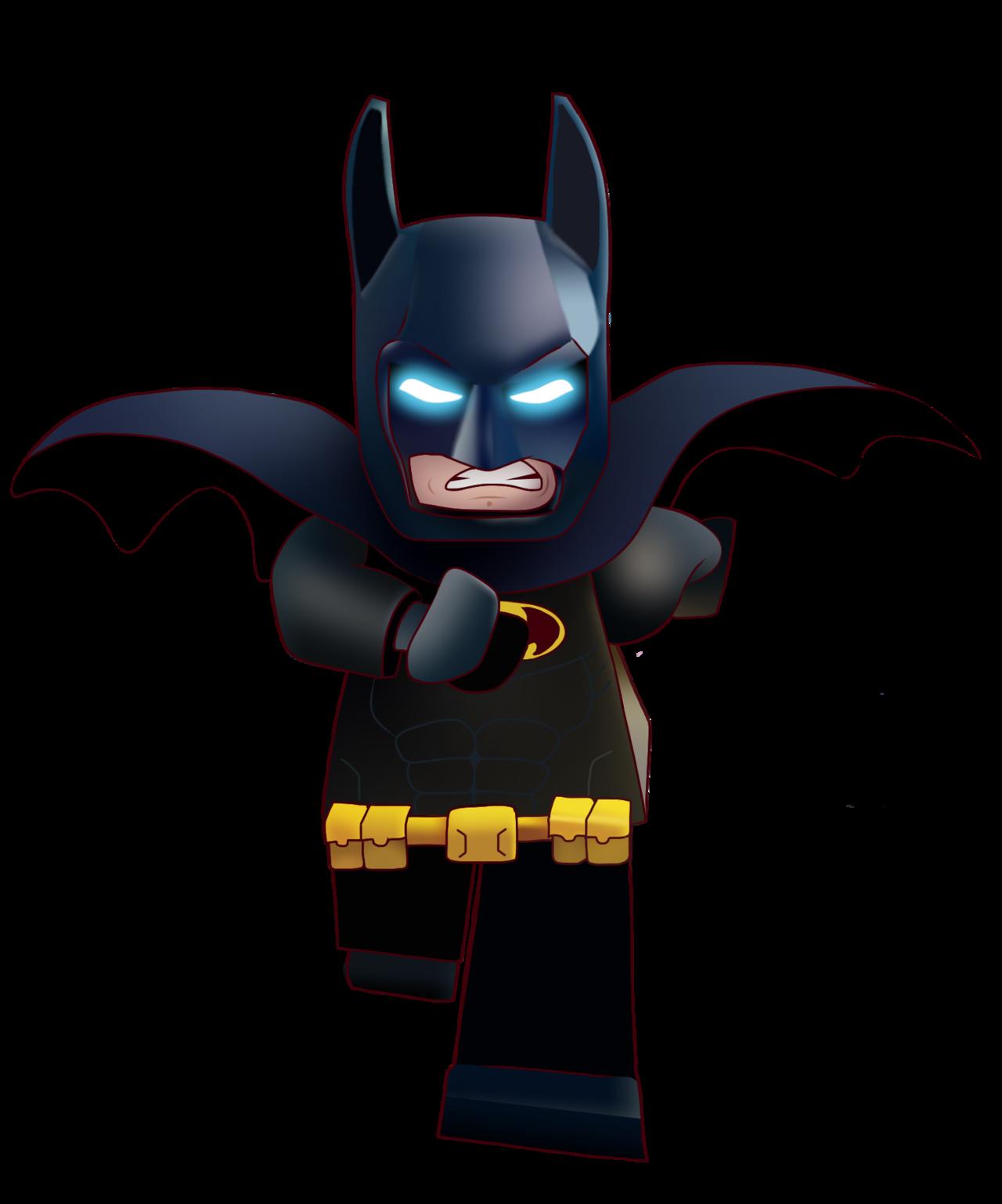 vector freeuse Batman Clipart leggo
