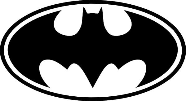 picture library library Free Batman Symbol Outline