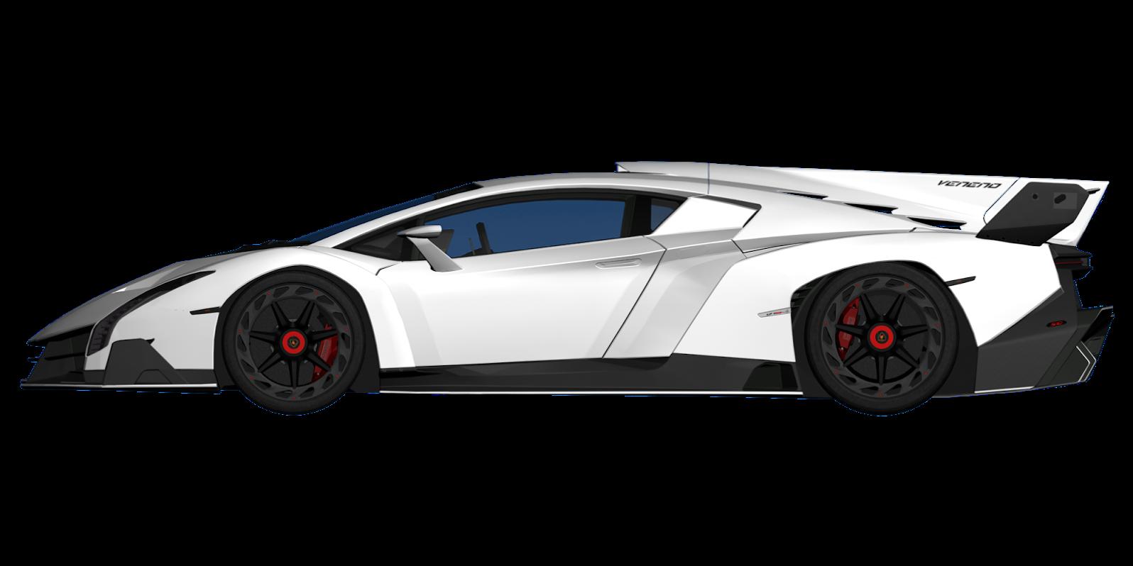 svg free Lamborghini Veneno Blueprint