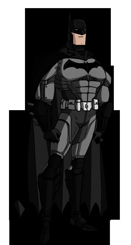 clipart JL Batman Arkham Origins by Alexbadass on DeviantArt