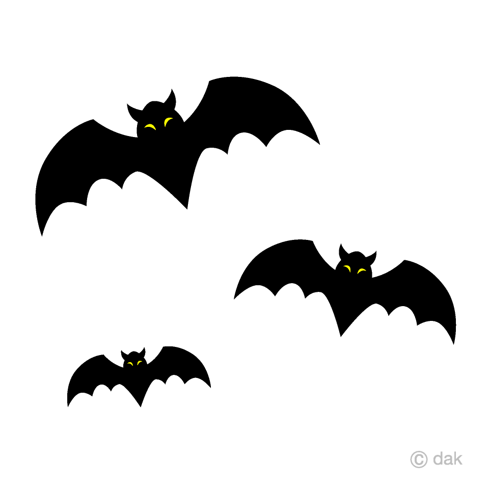 clip royalty free library Free picture illustoon . Bats clipart.