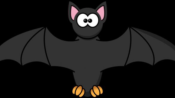 vector freeuse library Bats clipart kawaii. Cool cartoon bat images.
