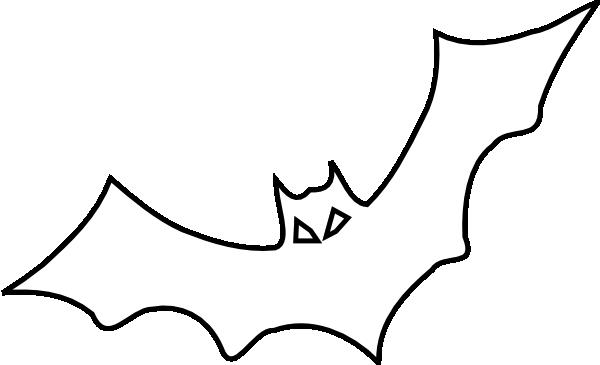 png stock Bat Outline Clip Art at Clker