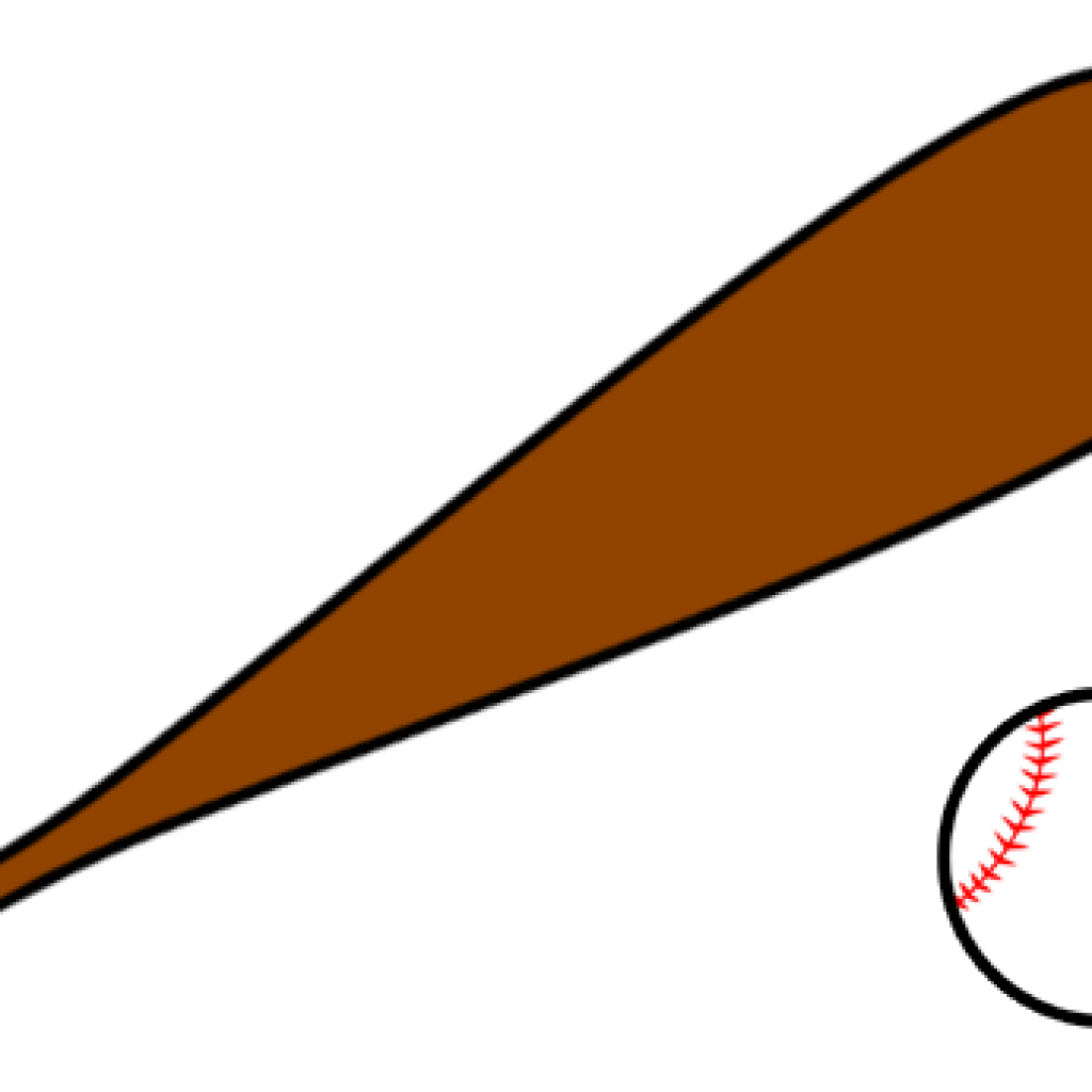 picture transparent library Bats clipart orange. Baseball and bat moose.