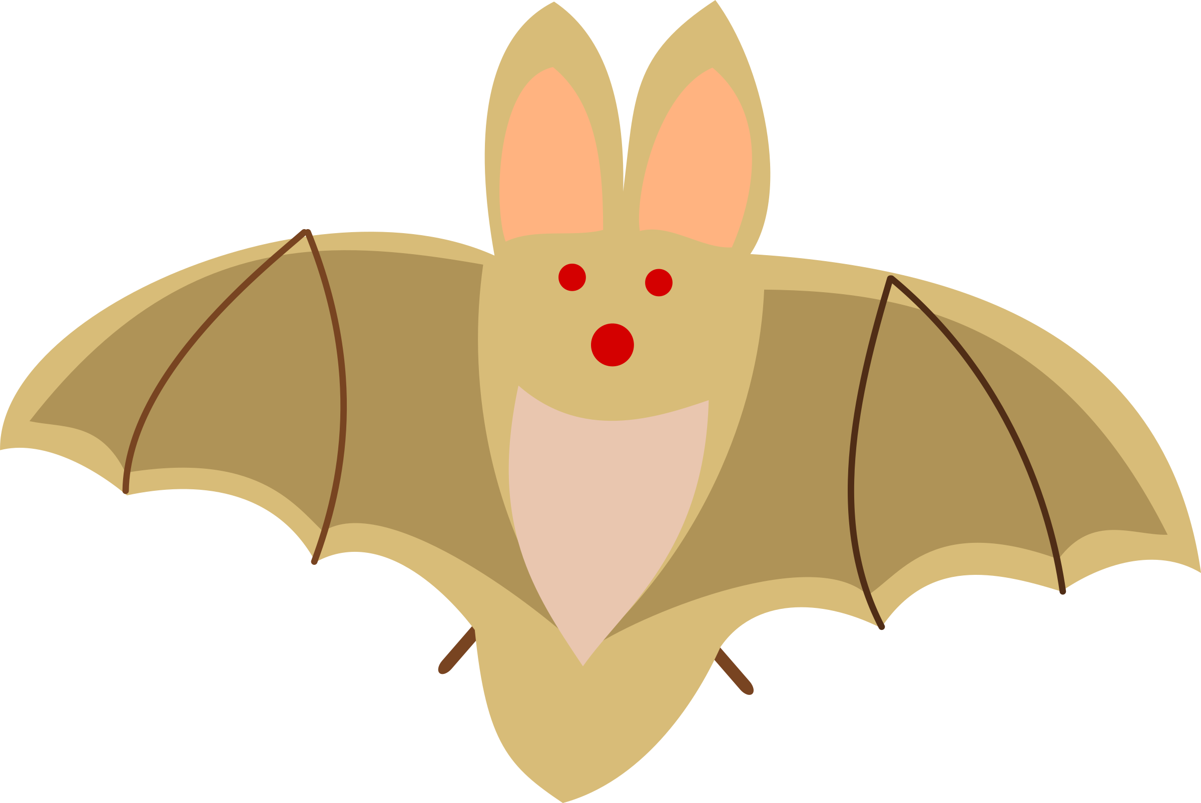 image stock Bat free on dumielauxepices. Bats clipart orange.