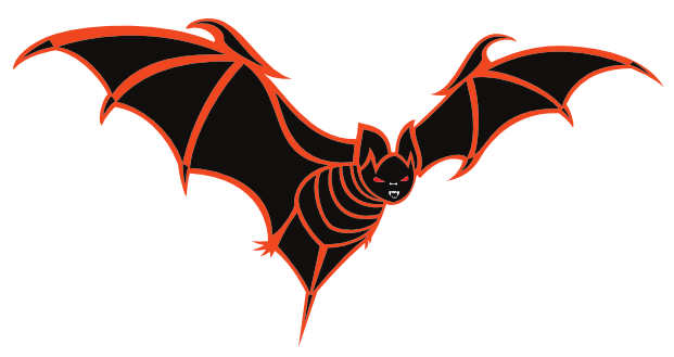 image free library Bats clipart orange. Black and bat png.