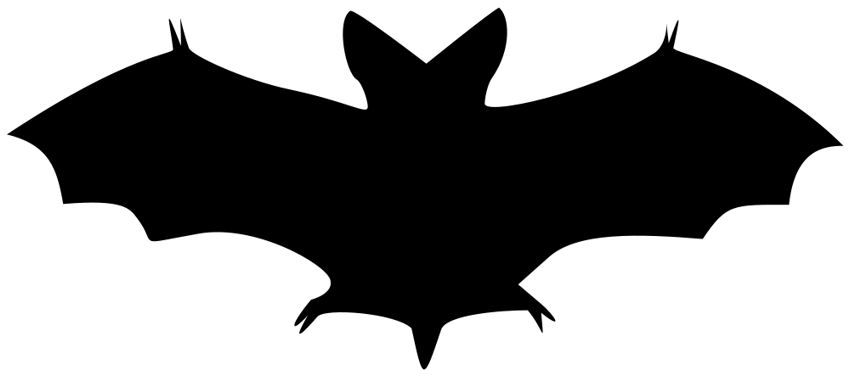 banner black and white stock Bats clipart.  bat images vintage.