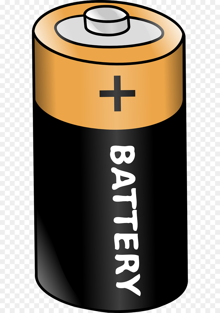 graphic freeuse Cartoon energy electricity product. Battery clipart.