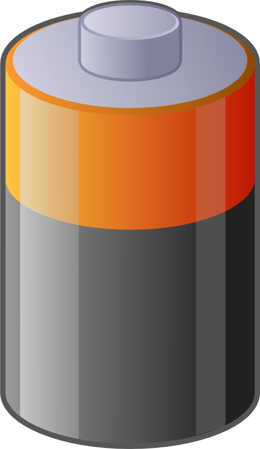 svg library Battery Clipart