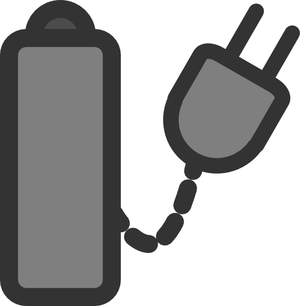 clip royalty free library Battery Charger Clip Art at Clker