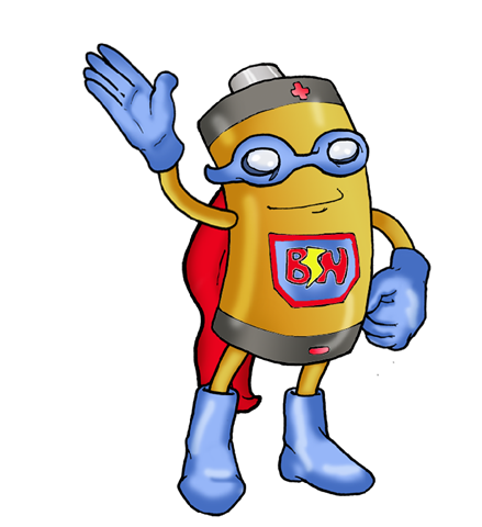 png Battery clipart man