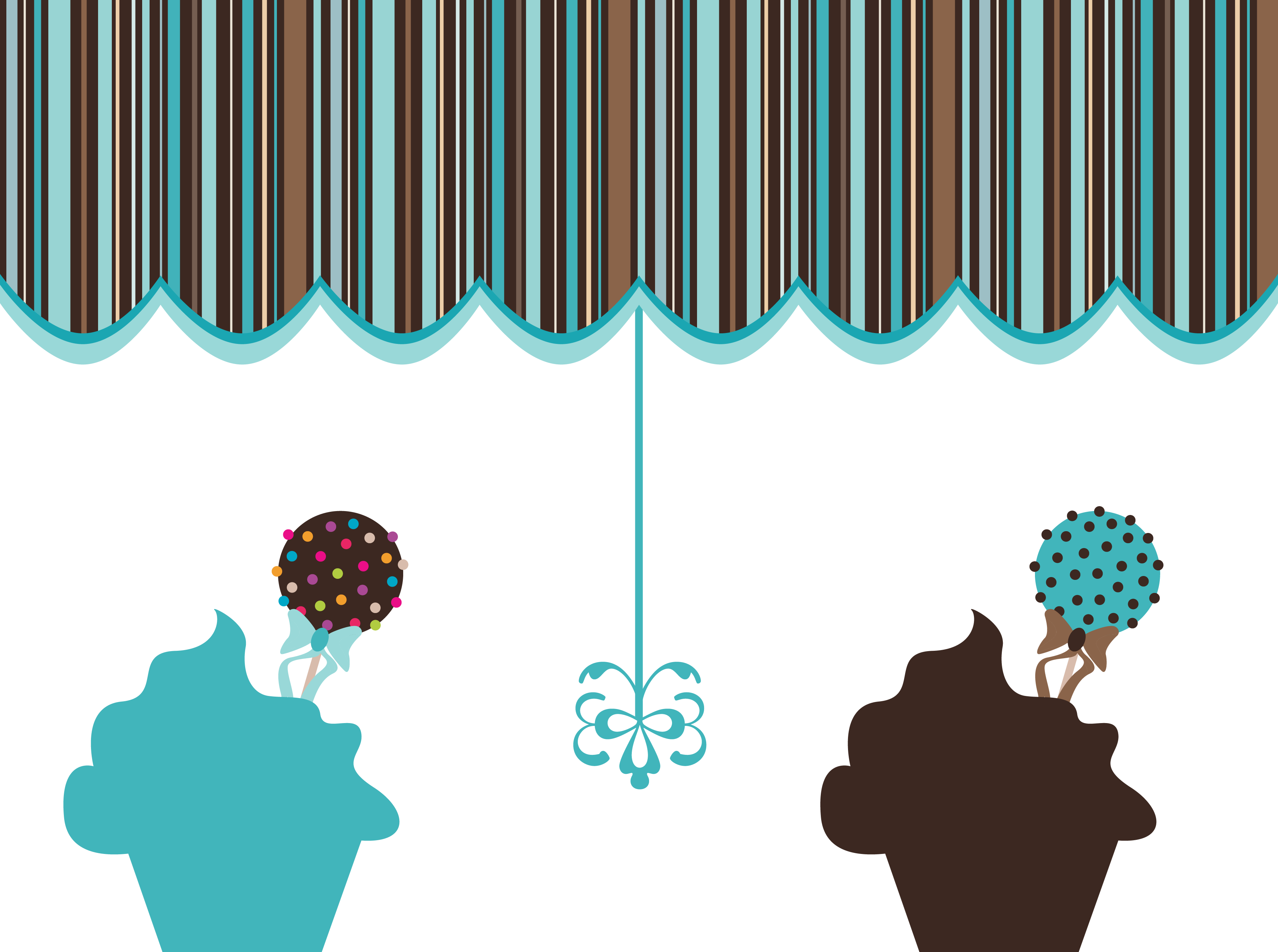 graphic library download  cupcakes with canopy. Yes clipart postive