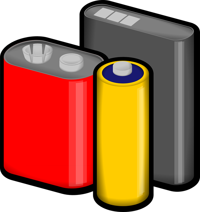 banner freeuse stock Rechargeable batteries market to. Battery clipart two.