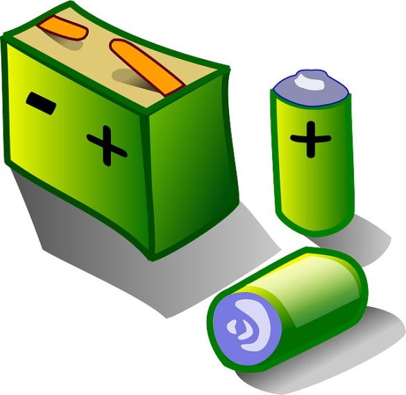 jpg download Transparent free for . Battery clipart two.