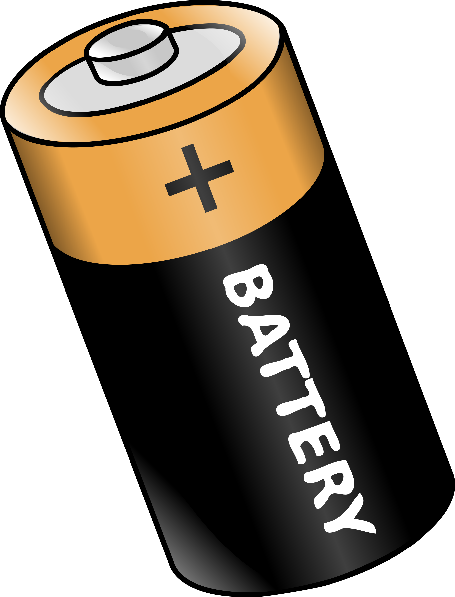 clip black and white stock Battery clipart. Big free on dumielauxepices.