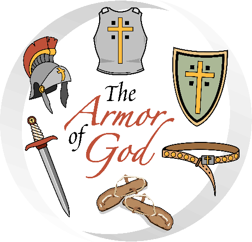 clip royalty free stock Armor of god theme. Battle clipart be strong in lord.