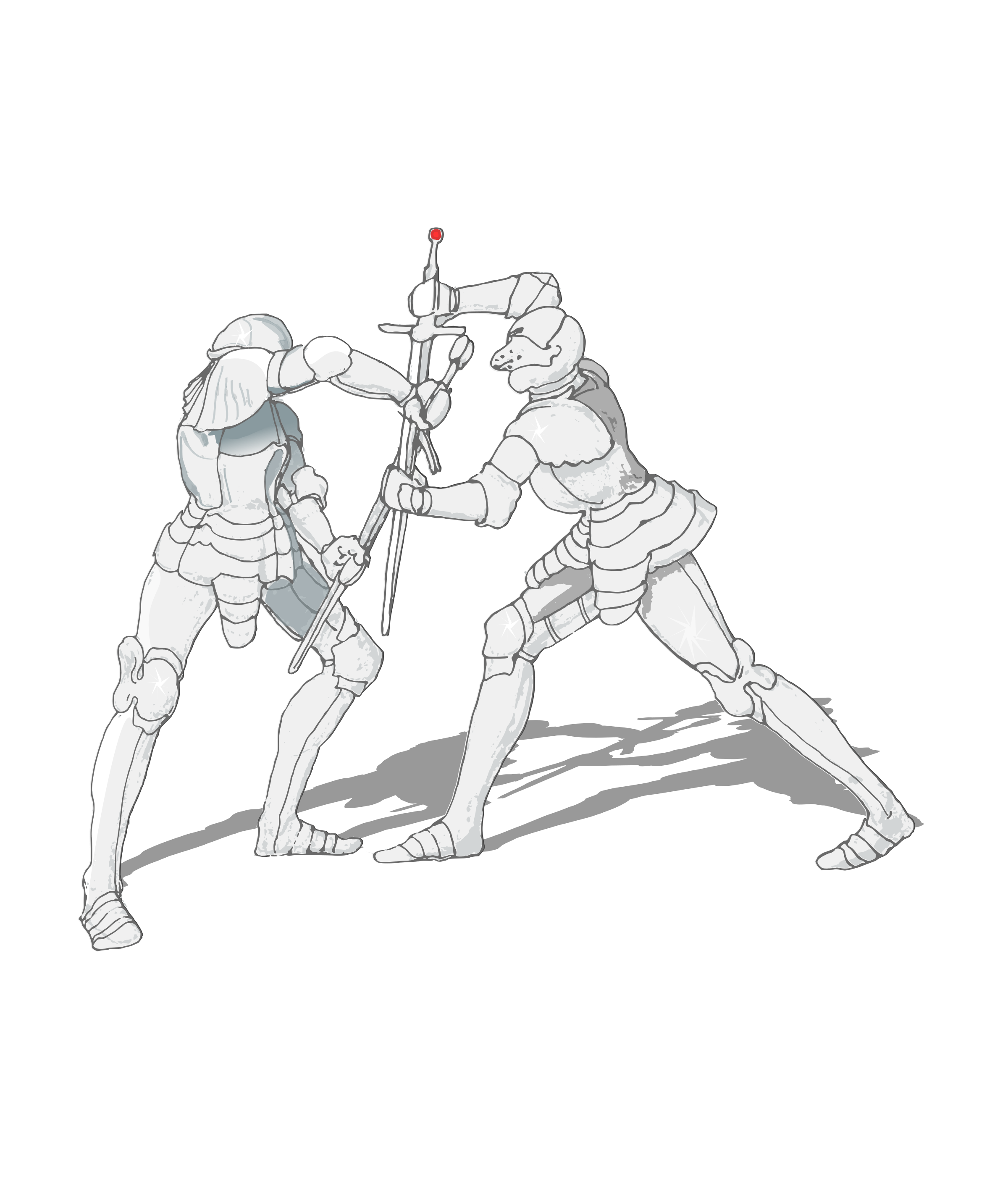 free download Sword Fight Drawing at GetDrawings