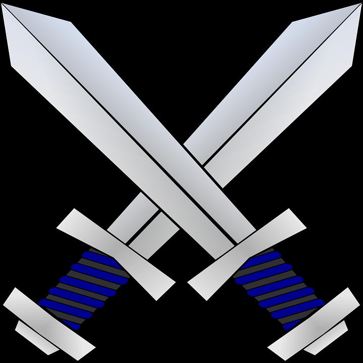 svg transparent library Battle clipart sword fight