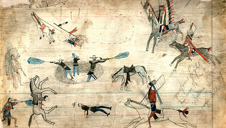 graphic transparent stock Ledger art wikipedia . Drawing army native american