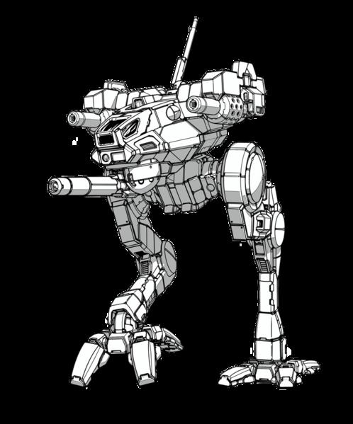 image free stock drawing robots mech #95480312