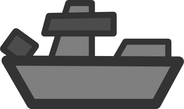 svg transparent stock Battleship Clip Art at Clker