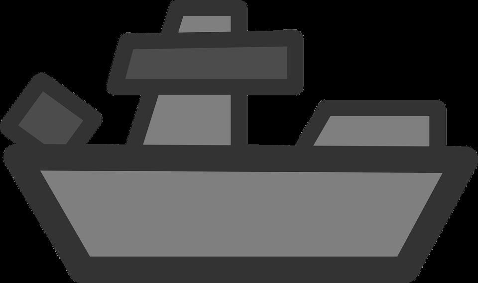 vector free Wars clipart battleship