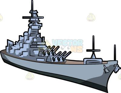 clip transparent Navy boat . Battleship clipart naval ship.