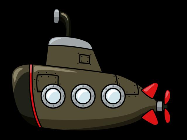 svg submarine vector comic #115973230